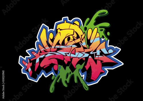 Graffiti Black Storm