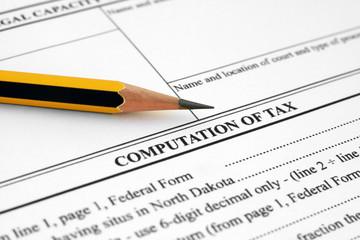 Computation of tax