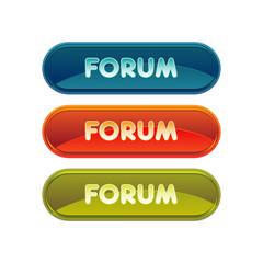 forum discussion échange bouton picto logo internet design web