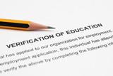 Verification od education poster