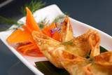 Thai Crab Cream Cheese Wontons Appetizer poster