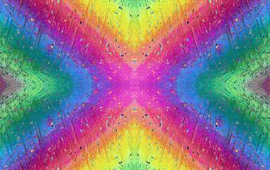 The rainbow in micro world