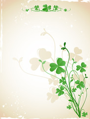st patrick`s day card