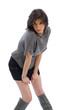 jupe courte et bottes hautes 14