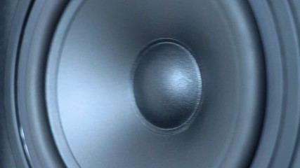 Black loud speaker