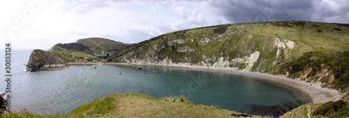 East Lulworth Cove Panorama