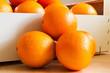 Frische Orangen, formatfüllend,