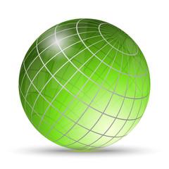Green globo