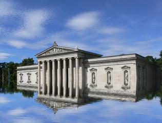 Hochwasser Königsplatz