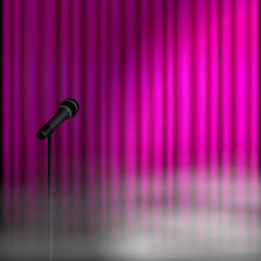 vorhang v2 mikrofon II