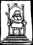 King on Throne - 30044111