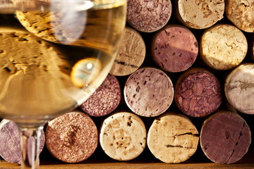 Image of wine corks
