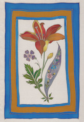 flower islam tiles batik pattern