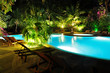 Malediven - Swimming Pool bei Nacht - 30049763