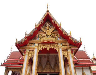 Wat Chalong Temple on Phuket island Thailand