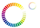 Fototapety color circle