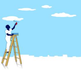 Wolken-Maler