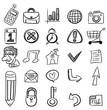hand draw web icon