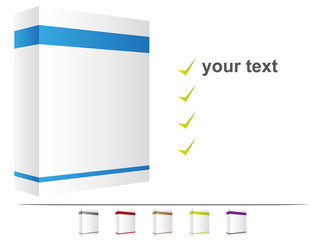 Verpackung blank