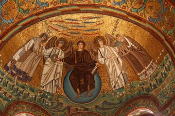 Ravenna, San Vitale, famous mosaic, Italy