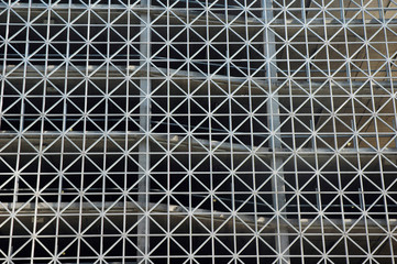 car park exterior pattern