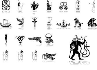 Big set icons - 27. Egypt