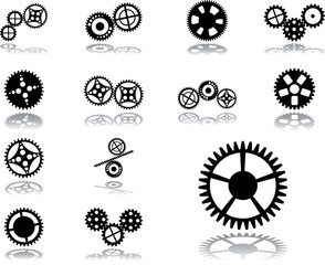 Set icons - 196. Gears