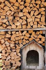 Cuccia nella legnaia