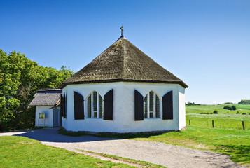 Kapelle in Vitt auf der Insel Rügen.