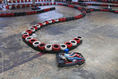 indoor carting hall