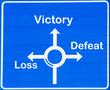 Victory or loss