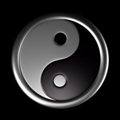 3D - Yin und Yang Symbol 02