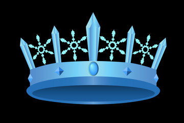Icy royal crown