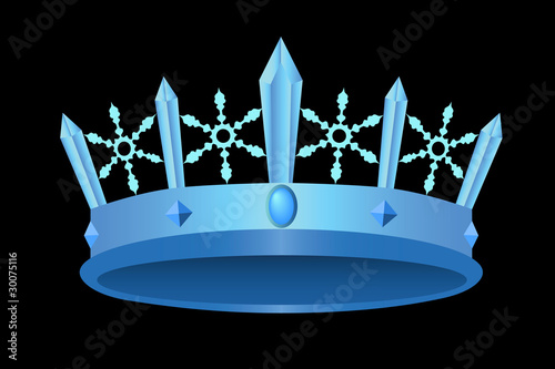 Icy royal crown