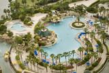 Fototapety Swimming Pool Orlando World Center Marriott