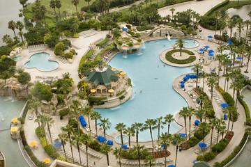 Swimming Pool Orlando World Center Marriott