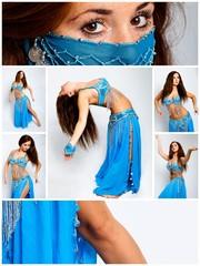 orientalischer Tanz - Collage #3