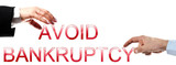 Avoid bankruptcy words poster