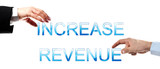 Increase revenue words poster