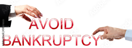 Avoid bankruptcy words