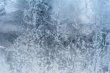 Close up: ice frozen water natural background