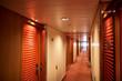 Corridor at cruise ship