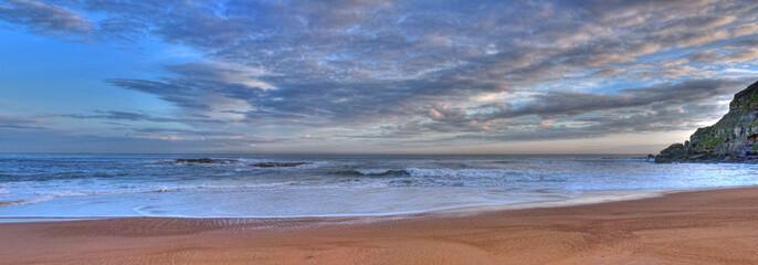 Panorámica en la costa cantábrica.