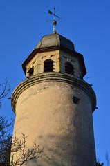 Turm einer Burganlage