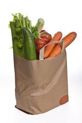 Papiertüte mit Gemüse #6