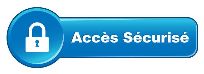 Bouton Web ACCES SECURISE (se connecter connexion internet clic)