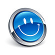icône bouton internet smiley