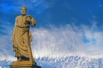 Roma, statua di S. Pietro