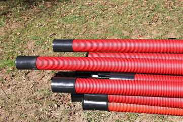Heavy Duty Underground Electrical Conduit