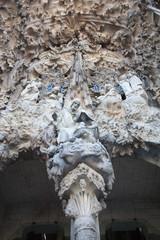Fachada del Nacimiento. Sagrada Familia de Barcelona